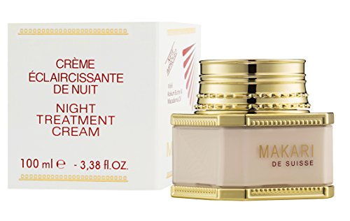 Treatment Lightening (Makari Classic Night Treatment Skin Cream 3.38 fl.oz – Moisturizing, Lightening & Brightening Face Cream – Regulating Nighttime Regimen for Dark Marks, Scars, Acne Blemishes, Hyperpigmentation)