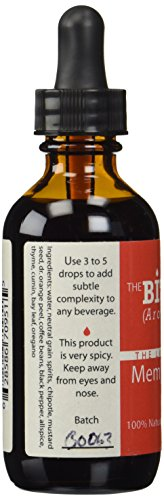 The Bitter End Memphis Barbecue Cocktail Aromatic Bitters - 2 oz 3 Smoky flavor~Chiptole,black pepper and more Great for Manhattans Hand crafted