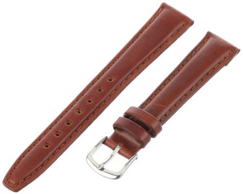 Hadley-Roma Men's MSM881RAC-170 17-mm Honey Oil-Tan Leather Watch Strap
