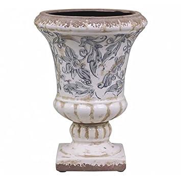 L\'Héritier Du Temps Jolie Vasque Style Antique Ancien Vase Intérieur ...