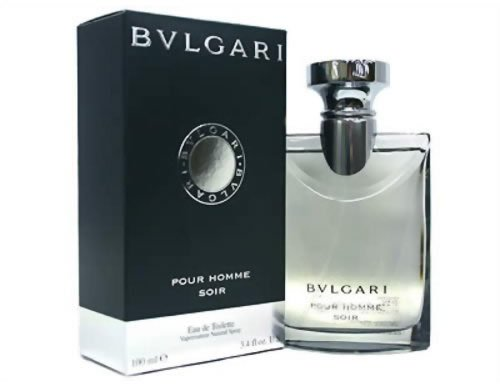 Bvlgari Pour Homme Soir by Bvlgari Eau De Toilette Spray 3.4 oz for Men