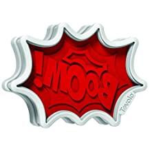 Tovolo Comic Burst Cookie Cutters, Red