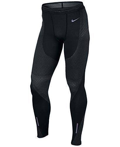Nike Men's Zonal Strength Running Tights-Black-Medium