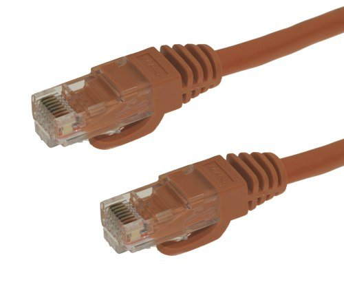 CableMax 8ft Orange Cat6 Snagless RJ45 Ethernet Patch Cable 24AWG 550MHZ Stranded UTP