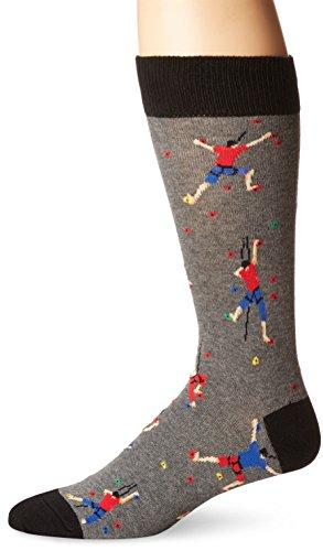 Socksmith Men's Climbing People Heather Gray One Size