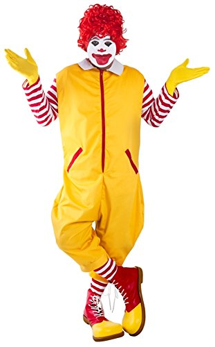 Adult (Ronald Mcdonald Costume)