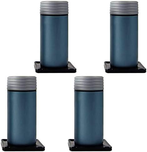 Pies de Muebles de plástico/Patas de gabinete/Mueble de TV Patas de sofá/Patas de Soporte de Mesa de café/colchonetas de Cama Ajustables(C; 12cm): Amazon.es: Hogar