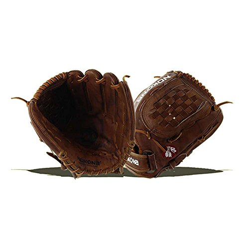 Infielders Glove Walnut Leather - Nokona Walnut Fastpitch 12.5