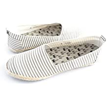Indosole Pantai Travel Shoes Grey Stripe