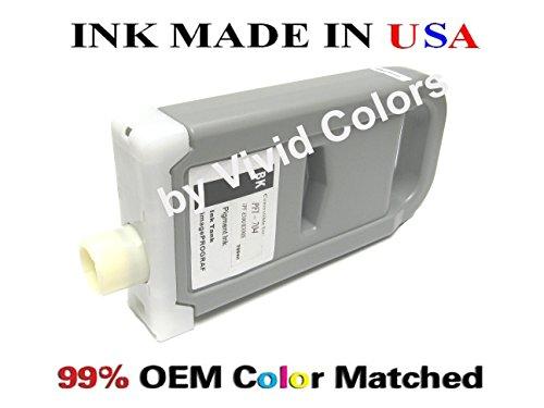 (New PFI-704 Compatible cartridge for Canon IPF8300s- BLACK)
