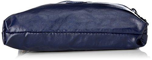 Kipling - Zamor, Bolsos bandolera Mujer, Mehrfarbig (Water Camo), 25.5x24.5x4 cm (B x H T) Azul (Lacquer Indigo)
