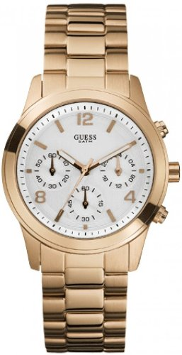W16571L1 Guess Mini Spectrum Gold-Tone Chronograph Ladies Watch ()