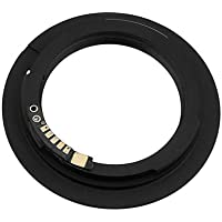 Fotodiox Lens Mount Adapter - M42 Type 1 Screw Mount SLR Lens to Canon EOS (EF, EF-S) Mount SLR Camera Body, with Focus Confirmation Chip