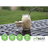 Neat Nutrition Meal Replacement Shake, 100 Calories, HIGH Protein, LOW Fat - (7/Box) (Vanilla)
