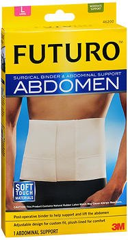 Futuro Futuro Surgical Binder And Abdominal Support Large, Large each (Pack of 2) - Futuro Surgical Binder