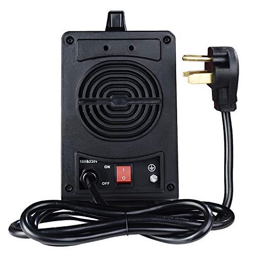 MMA-160, 160 Amp Stick Arc IGBT Digital Inverter DC Welder, 110V/230V Dual Voltage Input Welding. by Amico (Image #2)