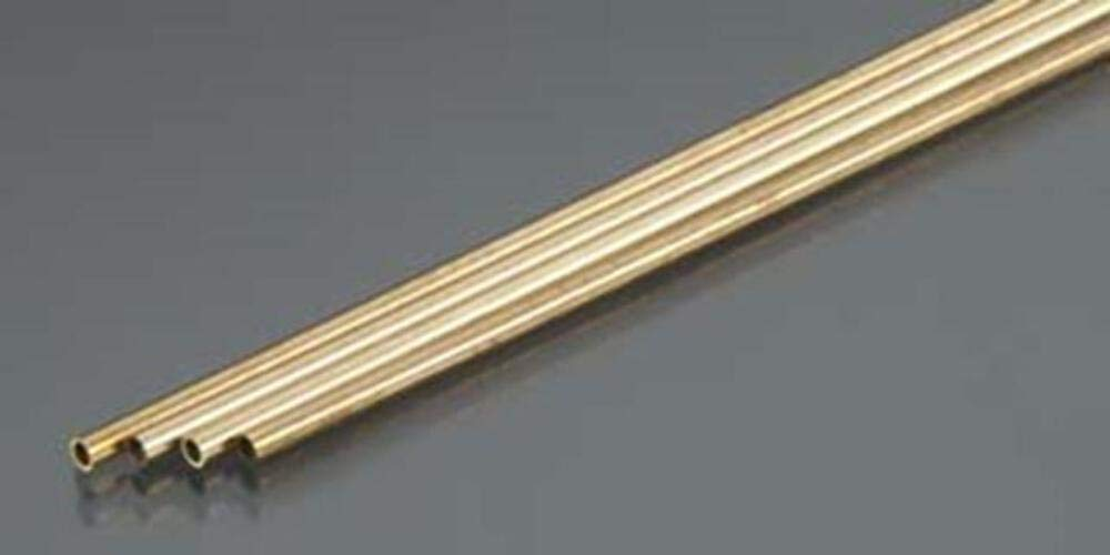 "26 Inch Length *Top grade! DIY 1//2/"" diameter Round Brass pipe tube Hollow"
