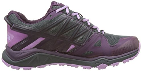 The North Face Hedgehog Fastpack Lite II GTX, Scarpe da Arrampicata Basse Donna Grigio (Dark Shadow Grey/Violet)