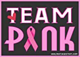 dry erase mix it and stix it - Team Pink for a Cure Breast Cancer Awareness Car Magnet