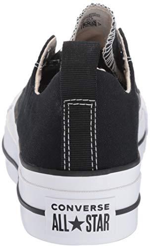Canvas white Converse Donna Fashion Textile black As Ox Formatori Ct Black iOkZTwPXul