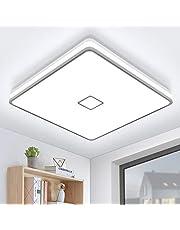Öuesen 24 W lamp badkamer plafondlamp LED 24 W lamp plafond plafondlamp badkamer