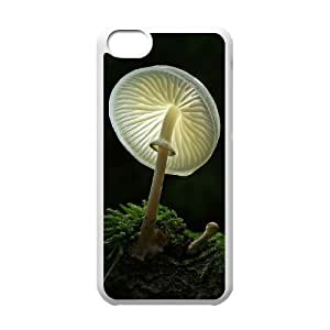 Mushroom Unique Design Cover Case with Hard Shell Protection for Iphone 5C Case lxa#988135