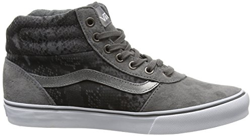 Vans Hautes Femme Hi Snake Milton Sneakers Gris Mte Gray Tan SqTrStw