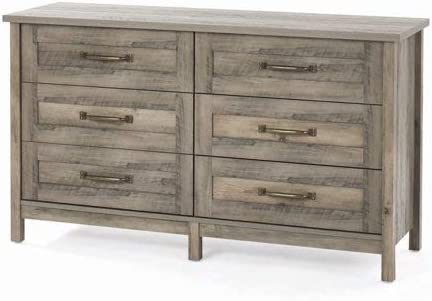 Better Homes Gardens Modern Farmhouse 6-Drawer Dresser