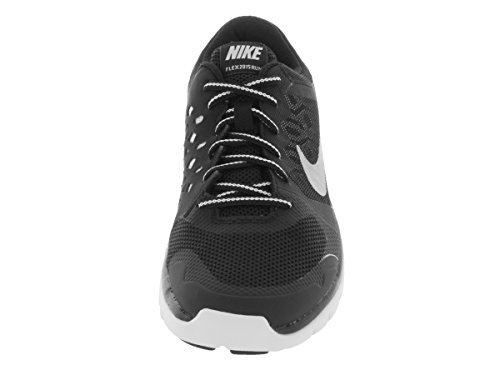 Rn Flex Shoes NIKE Gs Black Unisex White white Running Metallic Black Silver 2015 Kids' Silver wUqn4I1