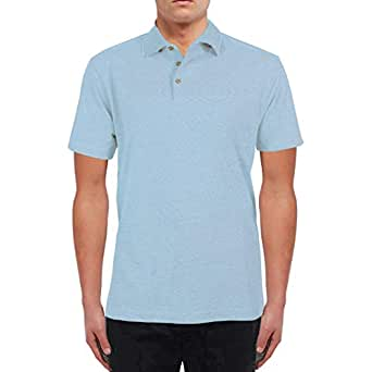 Santhome Polo T-Shirt for Men - Sky Blue, M