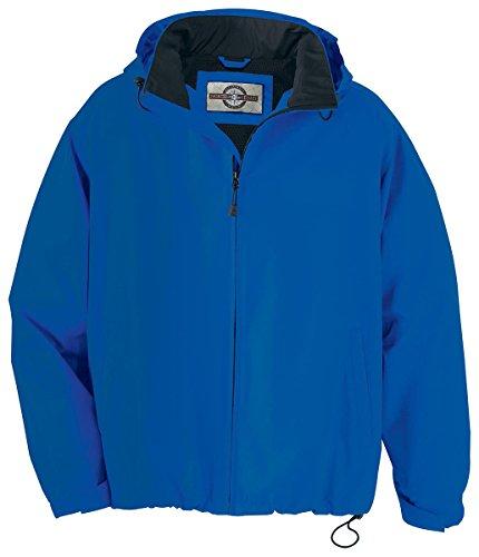 Mens Techno Lite Jacket - North End Men's Zipper Techno Lite Jacket, Ryal Cobalt, 4X