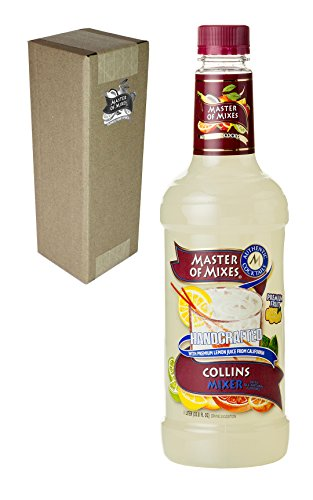 Master of Mixes Collins Drink Mix, Ready to Use, 1 Liter Bottle (33.8 Fl Oz), Individually Boxed (Coco And Ice T Halloween Costumes)