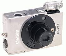 Canon ELPH - Point & Shoot / Zoom camera - APS - lens: 24 mm - 48 mm - black, metallic silver