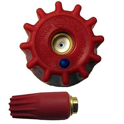 General Pump YR51K40 5100 PSI Turbo Nozzle, #4.0 Orifice