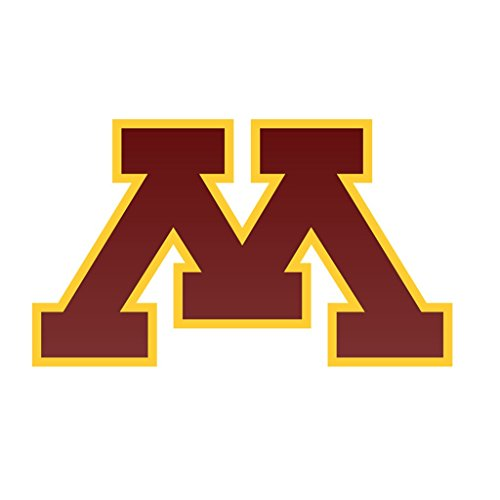 Minnesota Golden Gophers Logo2 CreativeStickers0504 Set Of Two (2x) Stickers , Laptop , Ipad , Car , Truck , Size 4 inches on Longer Side