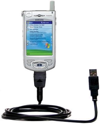 Gomadic Cable Recto clásico USB para el Samsung SPH-i700 con Capacidad de Power Hot Sync y de Carga: Amazon.es: Electrónica