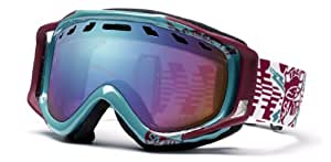 Smith Stance Goggle (Sensor Mirror, Aqua/Burgundy Rfc)