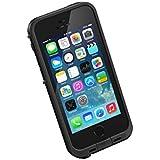 LifeProof FRE SERIES Waterproof Case for iPhone 5/5s/SE - Retail Packaging - BLACK