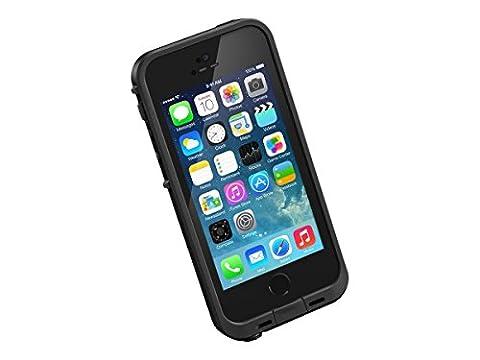 LifeProof FRE SERIES Waterproof Case for iPhone 5/5s/SE - Retail Packaging - BLACK - Iphone 5 Phone Case