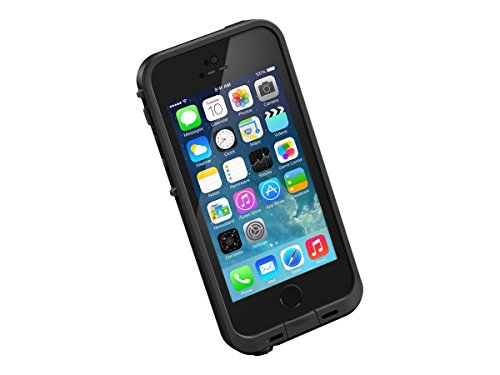 NEW LifeProof FRĒ SERIES Waterproof Case for iPhone 5/5s/SE - Retail Packaging - BLACK (Best Case For Iphone 5se)