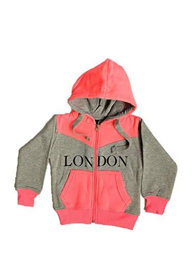 Cuffed Ankle Bottom Little Splice London Souvenir Girls Tracksuit Zipped Top 0-16 Years