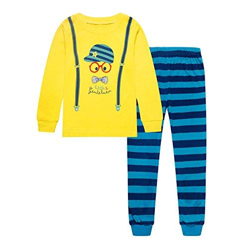 New 2 Piece Boys Pajamas - 7