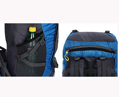 Load GREEN Backpack AY Fabric Backpack Color Waterproof Travel camping 30KG Nylon Bearing Polyester Outdoor mountain Black MBJDFX 56L SHnafOS