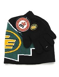 CFL Edmonton Eskimos Boys Winter Hat and Glove Set