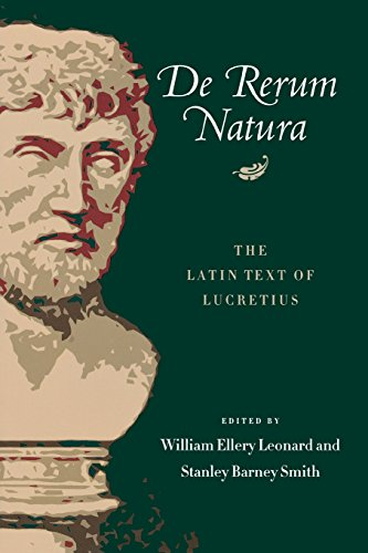 De Rerum Natura: The Latin Text of Lucretius (Latin and...
