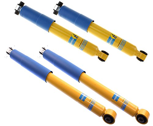 (NEW BILSTEIN FRONT & REAR SHOCKS FOR 92-99 4WD CHEVY BLAZER & TAHOE, GMC YUKON, GAS PRESSURE SHOCK ABSORBERS, BASE CHEYENNE LS SILVERADO LT GT SL SLT SPORT, 1992 1993 1994 1995 1996 1997 1998 1999)