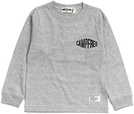 [キャンプフリー] CAMPFREE 長袖Tシャツ ワンポイント ロングスリーブTシャツ [ 綿 コットン 長袖 ロンt ] 10270