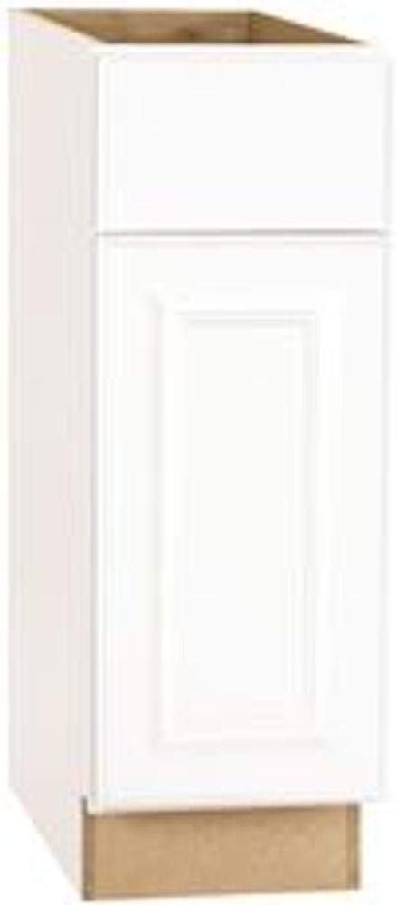 CONTINENTAL CABINETS KITCHEN CABINETS 2478246 Rsi Home Products Hamilton Base Cabinet, Fully Assembled, Raised Panel, White, 9X34-1/2X24''