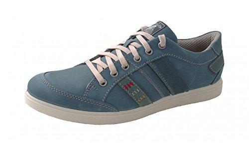Jomos Mens Lace Up Basse 316308-908-840 Blue jeans blu