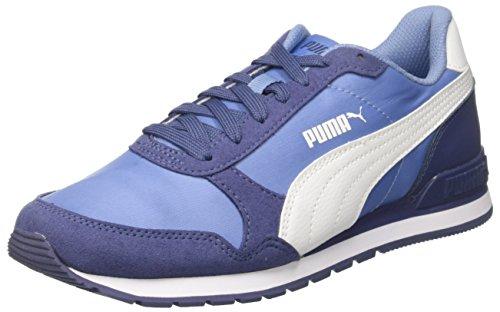 V2 Basses puma Nl St Jr allure Runner Bleu Sneakers Puma Enfant Mixte White YFABqUEwn